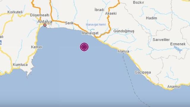 Antalya beşik gibi sallanıyor ! Korkutan deprem