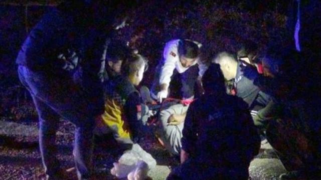 İşçi servisi şarampole yuvarlandı: 24 yaralı