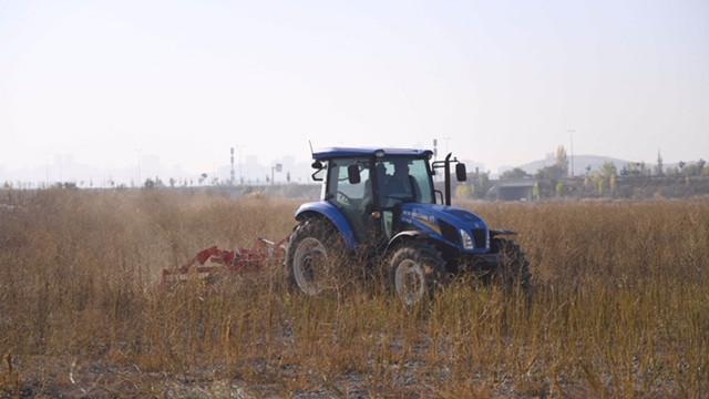 Atatürk Orman Çiftliği arazisinde yıllar sonra üretim başlıyor
