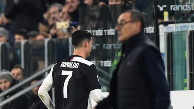 İtalya'da Ronaldo tartışması: Sarri'ye ağır küfürler etti