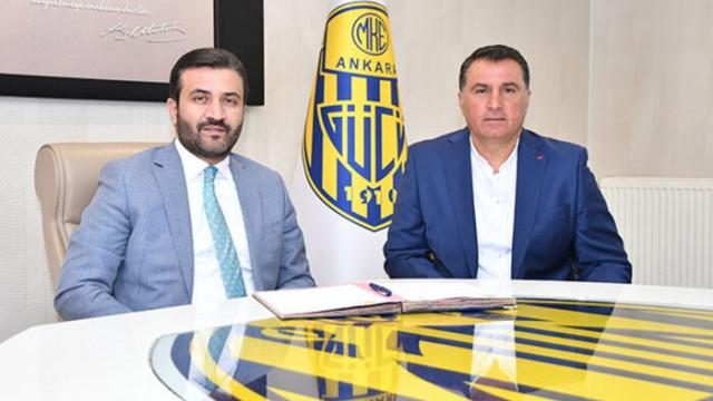 Ankaragücü'nde Mustafa Kaplan dönemi