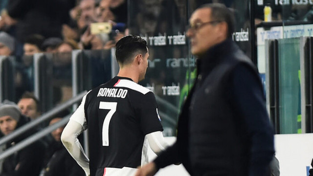 Cristiano Ronaldo'nun Sarri'ye ettiği küfür ortaya çıktı