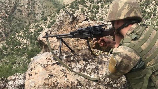 Kuzey Irak'ta 8 terörist öldürüldü