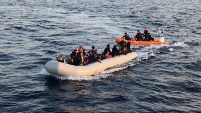 Ege ve Akdeniz'de 214 sığınmacı yakalandı