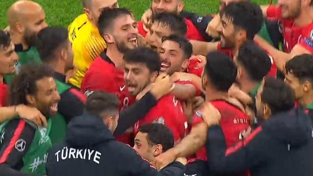 Türkiye A Milli Takımı UEFA 2020 Avrupa Futbol Şampiyonası'nda!