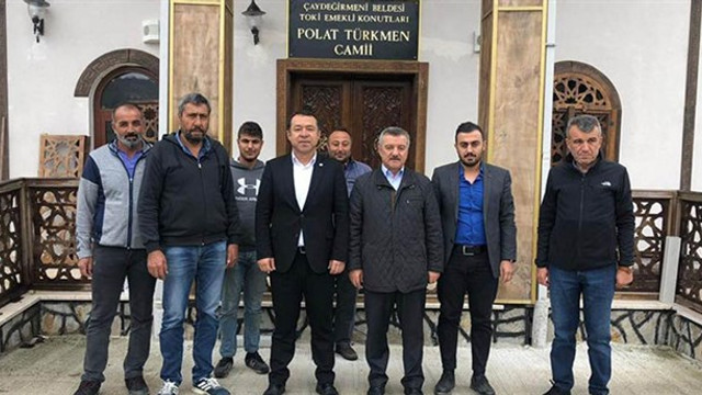 AK Partili milletvekilinin ismi camiye verildi