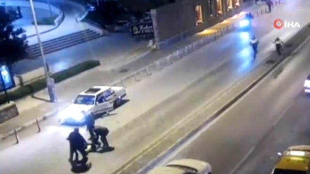 ''Dur'' ihtarına uymadı; polisi öldürüyordu!