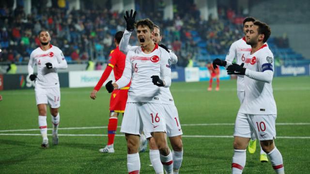 Andorra 0 - 2 Türkiye (EURO 2020 Elemeleri)