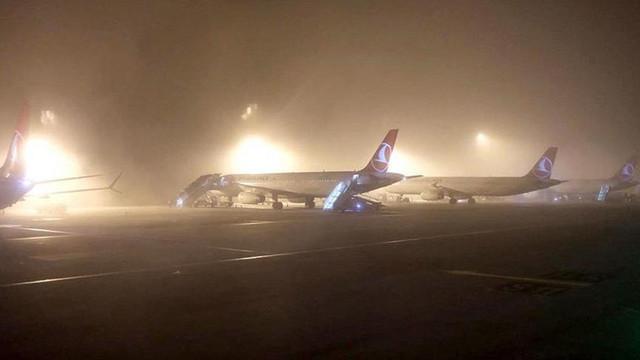 Sabiha Gökçen Havalimanı'nda seferlerde aksama