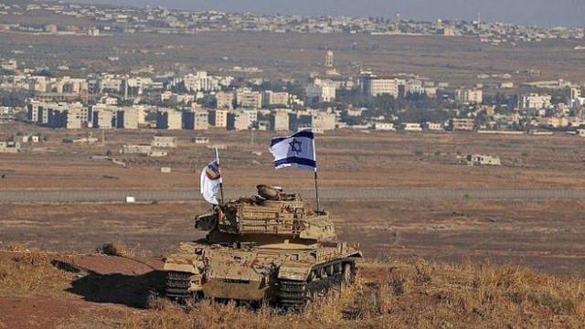 Suriye'deki Golan Tepelerine saldırı