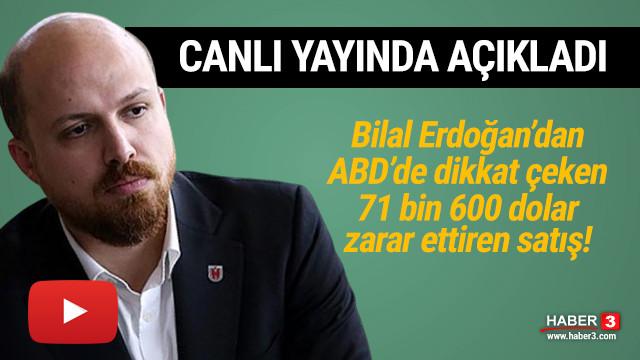 Bilal Erdoğan'dan dikkat çeken satış