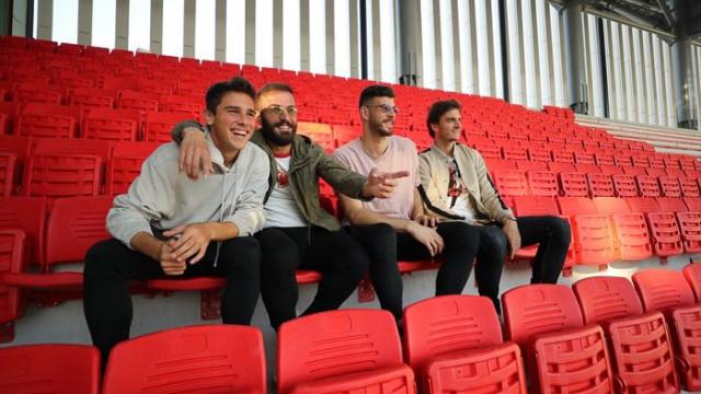 Göztepe'nin yeni stadının koltuk montajlarına başlandı