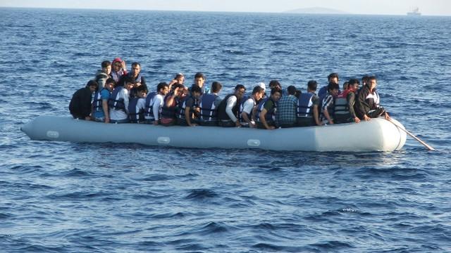 Ege'de 348 göçmen yakalandı