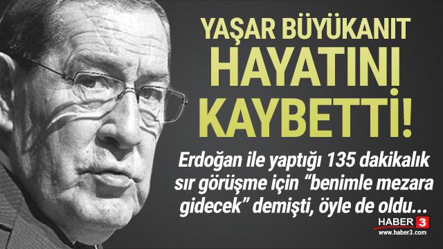 Emekli Org. Yaşar Büyükanıt hayatını kaybetti