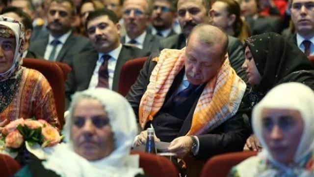 Cumhurbaşkanı Erdoğan tek tek not aldı