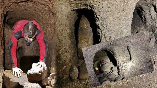 Kayseri'de yeraltı şehri bulundu