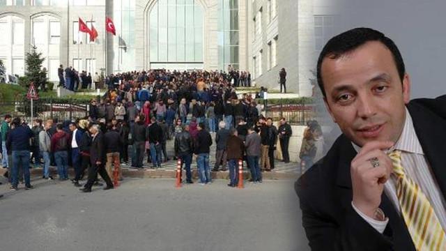 Yüzlerce eğitimci Necmettin öğretmen için toplandı