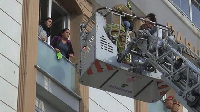 İstanbul'da 'ta korkutan yangın