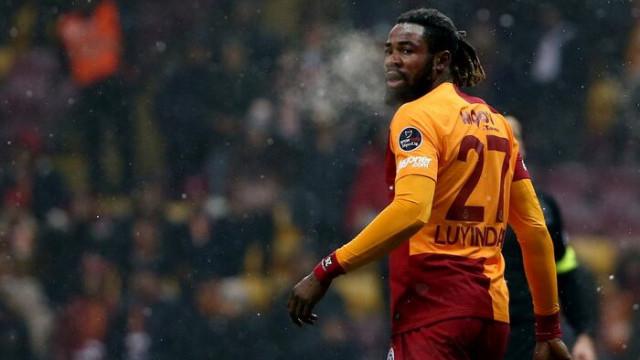 Galatasaray'da Luyindama'nın sözleşmesi donduruluyor