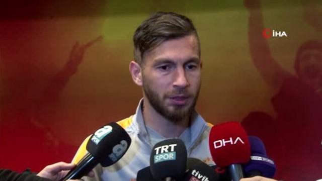 Galatasaray'ın deneyimli futbolcusu Adem Büyük: Hala şansımız var