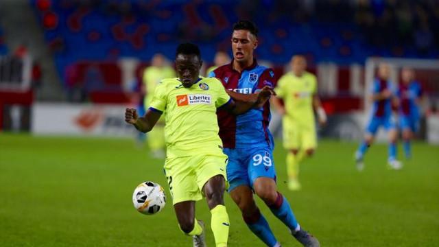 ÖZET | Trabzonspor-Getafe maç sonucu: 0-1