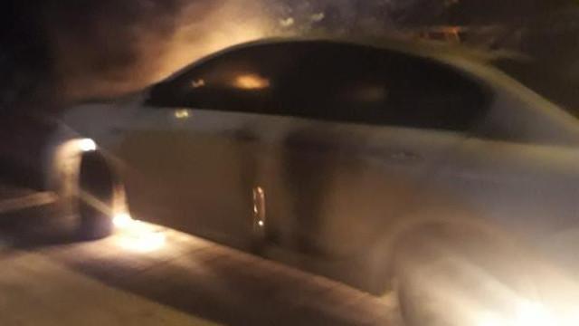 İstanbul'da bir araç kundaklandı