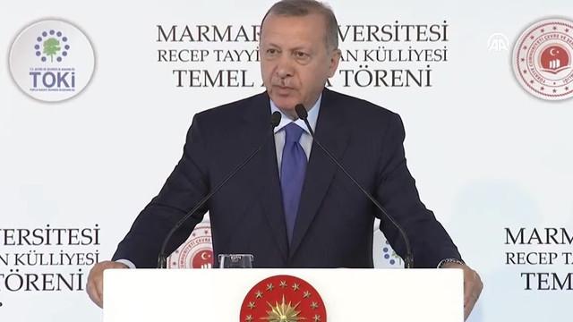 Erdoğan'dan Macron'a: Sen önce kendi beyin ölümünü kontrol ettir