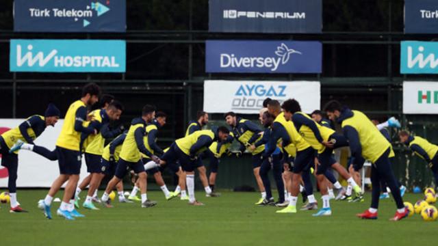 Fenerbahçe'de Vedat Muriqi ve Max Kruse takımla çalıştı