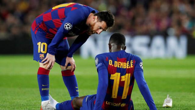 Barcelona'da Dembele şoku!