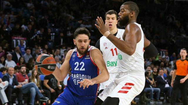 THY Euroleague'de yeni lider Anadolu Efes