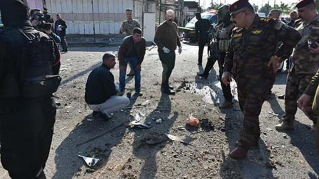 Kerkük'te peş peşe patlama: Çok sayıda yaralı var
