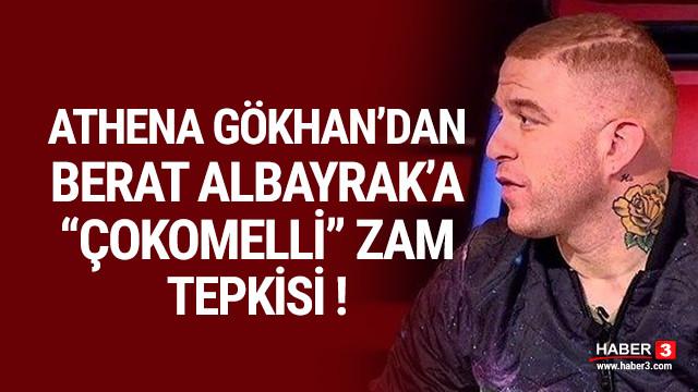 Gökhan Özoğuz'dan Berat Albayrak'a ''çokomelli'' zam tepkisi !