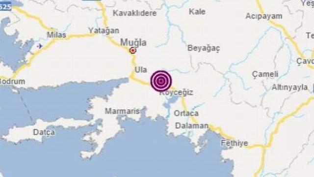 Muğla'da bir deprem daha! Ege peş peşe depremlerle sarsıldı!