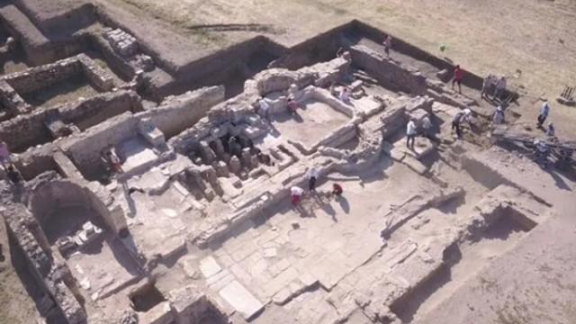 Metropolis kazılarında gelişmiş mühendisliğe sahip yapı bulundu