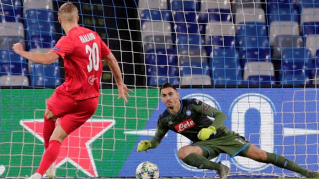 Napoli 1-1 Salzburg (UEFA Şampiyonlar Ligi)