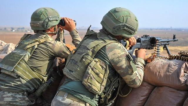 MSB'den flaş açıklama: Teröristlerin tacizleri sürüyor