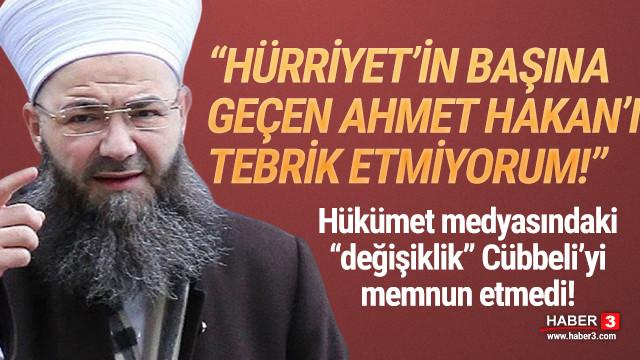 Cübbeli Ahmet'ten Ahmet Hakan'a dikkat çeken tepki
