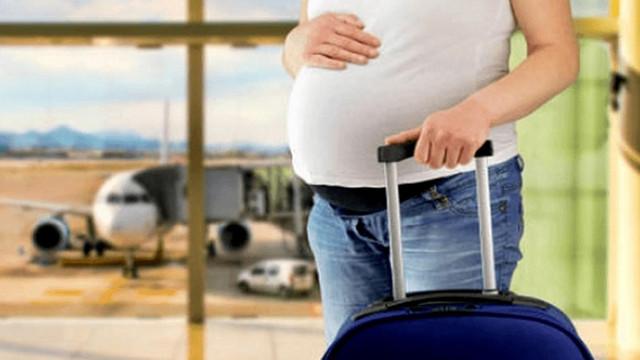 Havaalanlarında artık öncelik hamile ve bebekli yolcuların