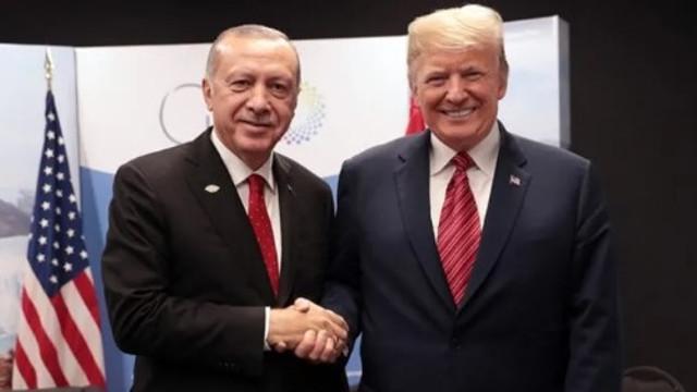 Erdoğan Trump'la görüştü ! ABD'ye gidecek mi ?