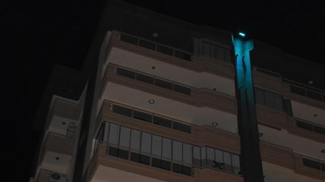 Kahreden ölüm! 8. kattan düşerek öldü