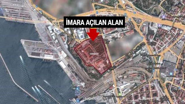 İstanbul Boğazı'na nazır 117 bin m2 alana imar izni