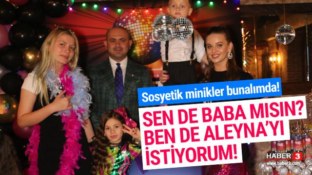 Ekşioğlu'ndan kızına doğum gününde ''Aleyna Tilki'' süprizi