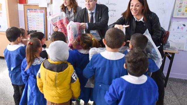 Ankara Büyükşehir Belediyesi'nden minikleri sevindiren destek