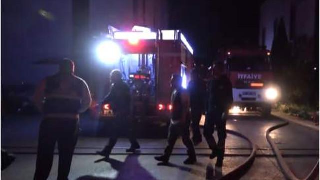 Kocaeli'de geri dönüşüm tesisinde korkutan yangın