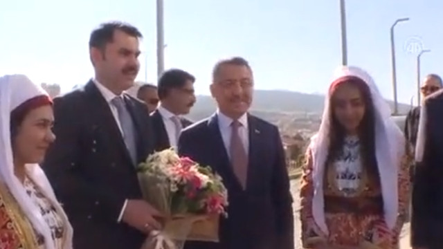 Fuat Oktay, Yozgar'ta il değerlendirme toplantısına katıldı