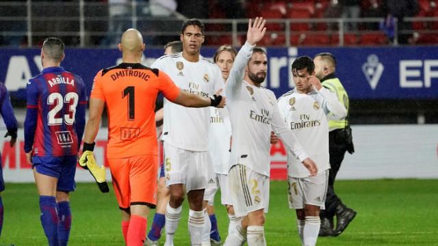 Real Madrid, deplasmanda Eibar'ı 4-0 yendi