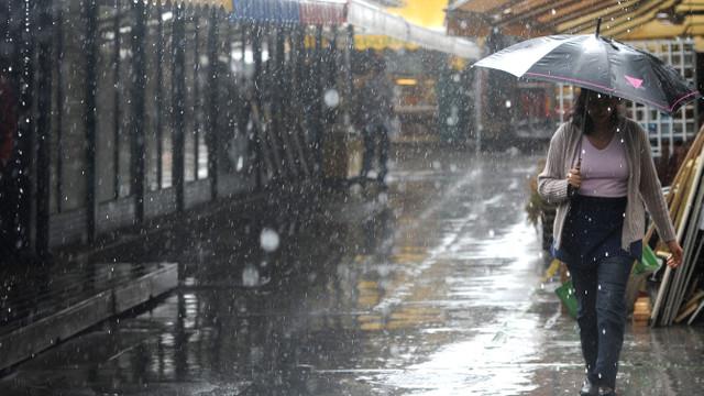 Meteoroloji'den yağmur ve kar yağışı uyarısı !