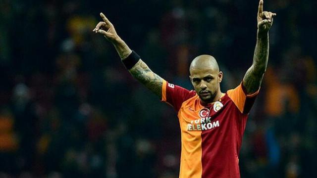 Galatasaray'ın eski futbolcusu Felipe Melo İstanbul'da