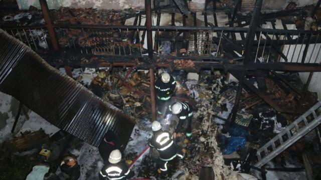 Terör saldırısı sandılar! Mutfak tüpü evi savaş alanına çevirdi