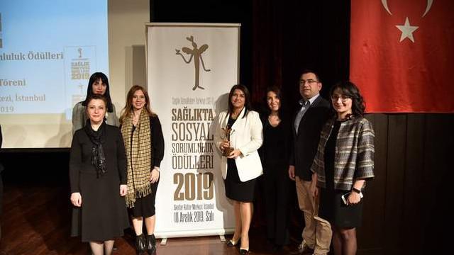 Kadıköy Belediyesi'ne ''Şeker Okul'' ile ödül